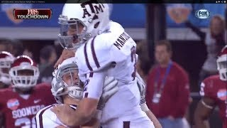 2013 Cotton Bowl: Johnny Manziel Highlight Reel vs Oklahoma