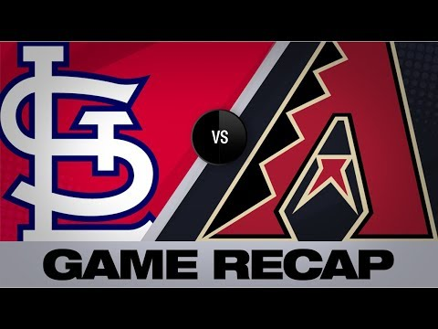 Goldy Homers In Arizona In Cards' 9-7 Win | Cardinals-D-backs Game Highlights 9/23/19