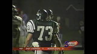 OVAC football - 2003 - Crooksville v. Shenandoah