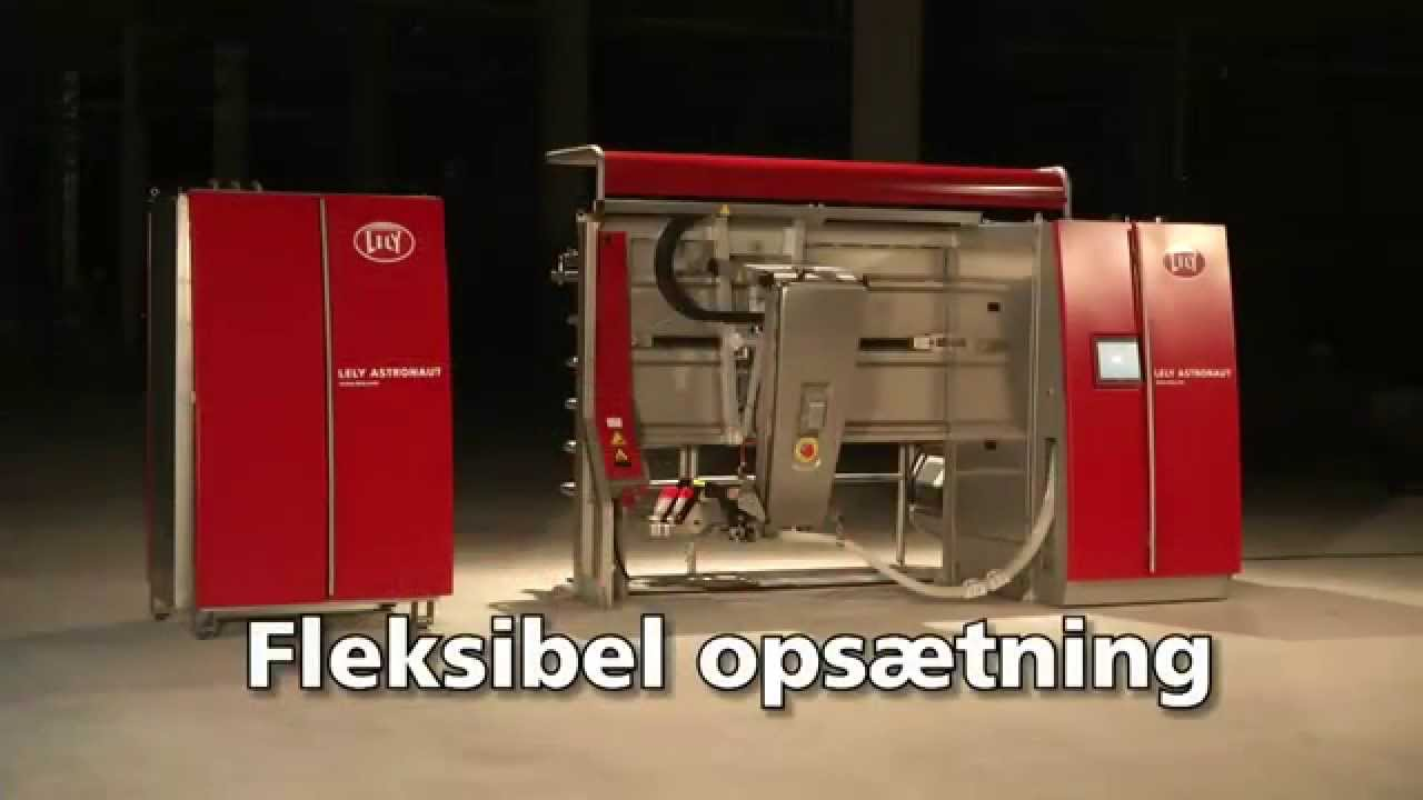 Lely Astronaut A4 - Milking robot highlights (Danish)