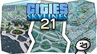 Cities: Skylines - EURE Städte [#21] - Ein Leben am Objektlimit, 450K Einwohner