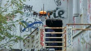 Les pompiers de Paris testent des drones en mission