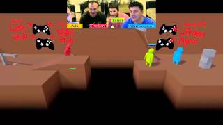 Gang Beasts 1.Bölüm -Hangi Oyunda Bu Kadar Gülersiniz?  | Türkçe [Facecam]