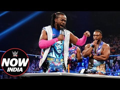 Kofi Kingston signs the contract for WrestleMania 35: WWE Now India