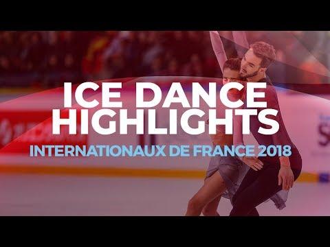 Best of Internationaux de France 2018 | Ice Dance Highlights | #GPFigure