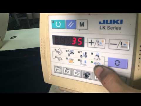 Hướng dẫn vận hành máy đính bọ điện tử Juki LK 1900AHS