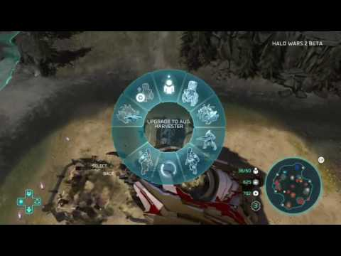 Halo Wars 2 beta team deathmatch gameplay