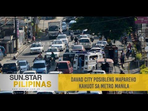 Davao City posibleng mapareho kahuot sa Metro Manila