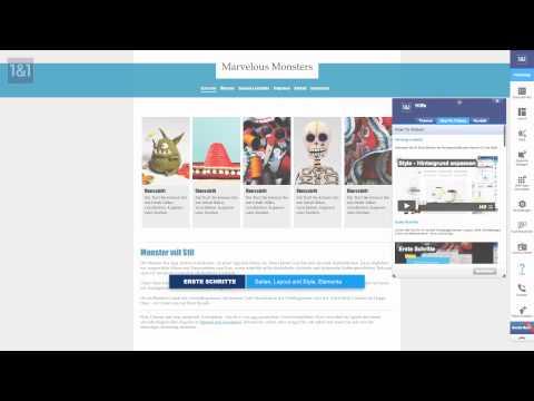 Eine Homepage in 5 Minuten erstellen