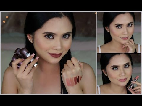 Maybelline Creamy Mattes in Brown Nudes Swatches & Review | Anna Cay ♥