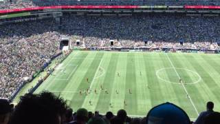 Seattle Sounders FC vs Portland Timbers(5/27) at Century Link