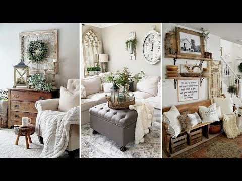 ❤DIY Farmhouse style Winter home decor Ideas❤ | Home decor & Interior design| Flamingo Mango