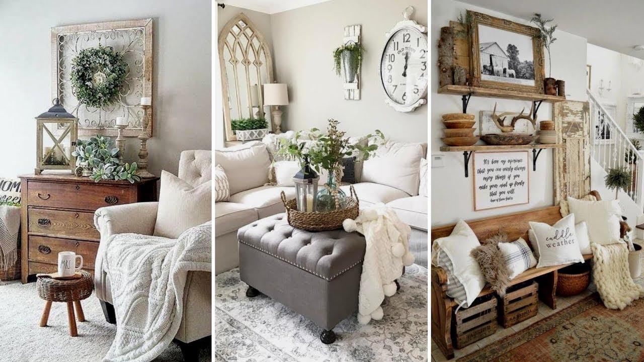 Diy Farmhouse Style Winter Home Decor Ideas Home Decor