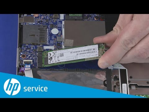 Replace the Solid State Drive | HP Pavilion x360 14 Convertible | HP