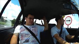 gol 89 turbo   fazendo desafio   acelerando 20okm   role com amigo rogerio do canal flying low