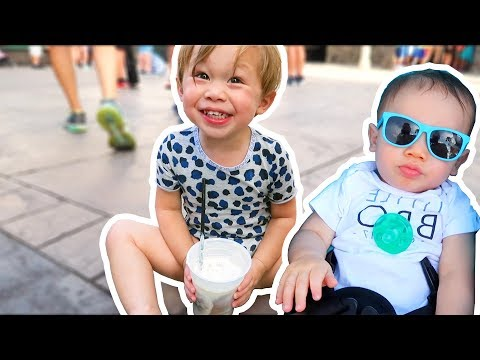 SURPRISING OUR KIDS WITH A DAY AT THE THEME PARK!