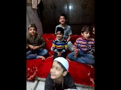 Bhar do jholi Qwali by children's