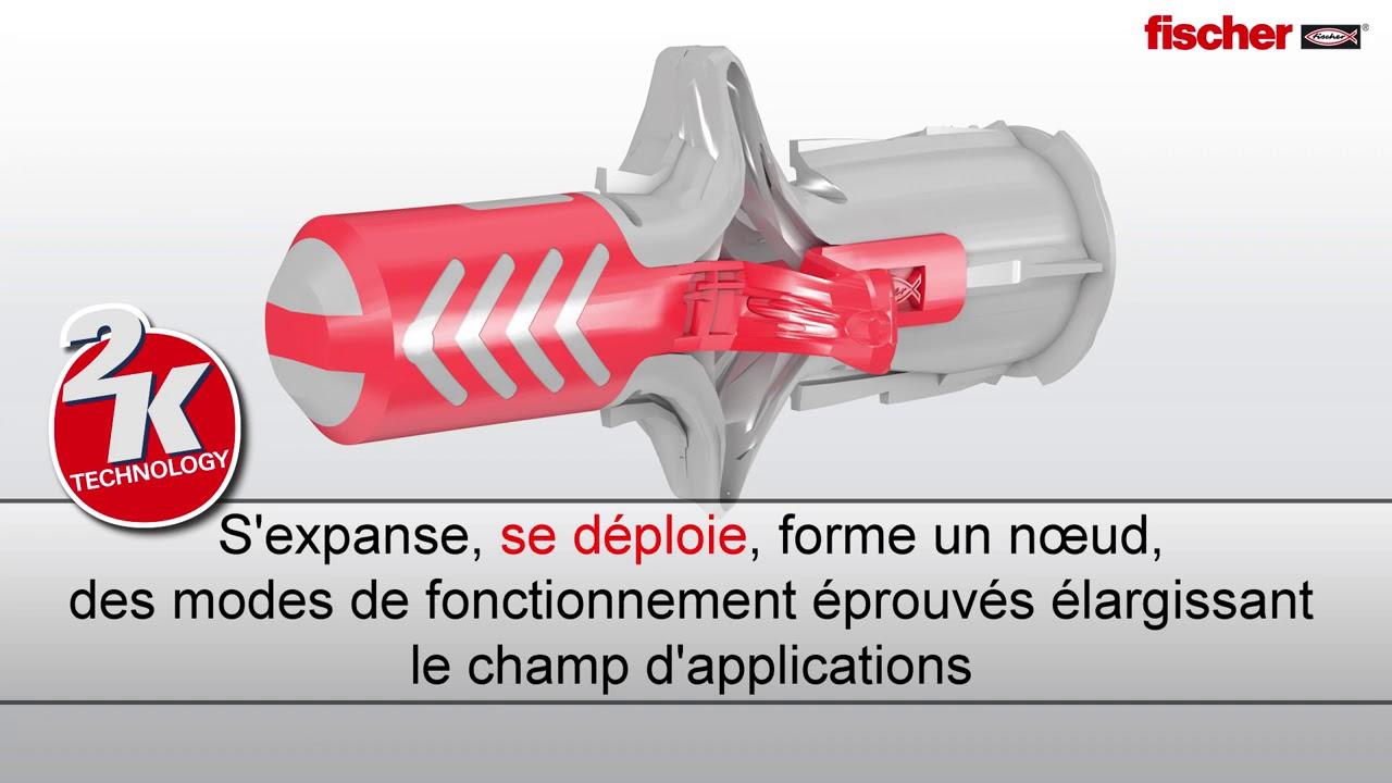 Cheville Expansion Universel Chevilles Chevilles Pêcheurs duopower S AVEC VIS 5 PCS