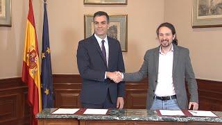 Sánchez e Iglesias logran un preacuerdo de coalición