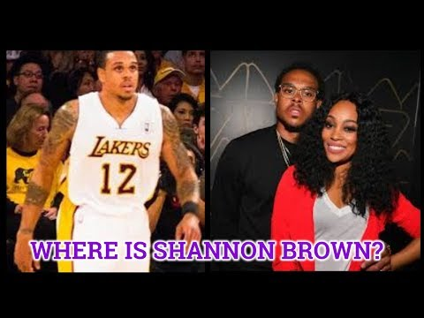 Where Is Shannon Brown Now?