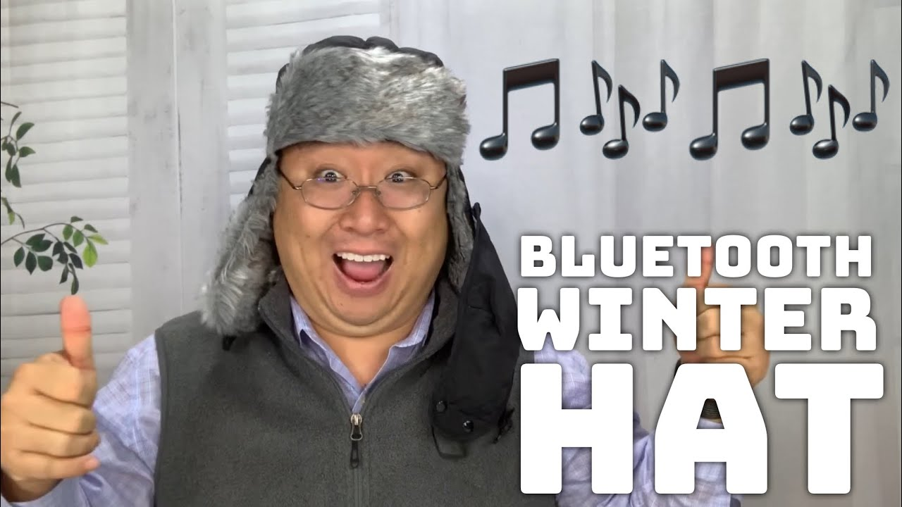 29363e0d3f632 Bluetooth Winter Trapper Hat with Furry Ear Flaps - YouTube