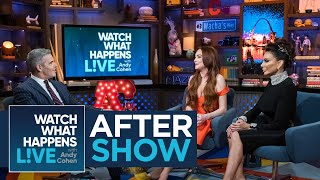 After Show: Lindsay Lohan On Kris Jenner's 'Thank U, Next' Cameo | WWHL Video