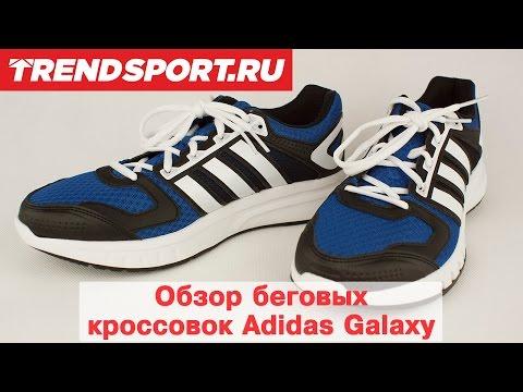 Обзор беговых кроссовок Adidas Galaxy от Trendsport.ruиз YouTube · С высокой четкостью · Длительность: 1 мин25 с  · Просмотры: более 1.000 · отправлено: 21.05.2015 · кем отправлено: Trendsport.ru