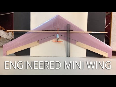 Engineered Mini Flying Wing