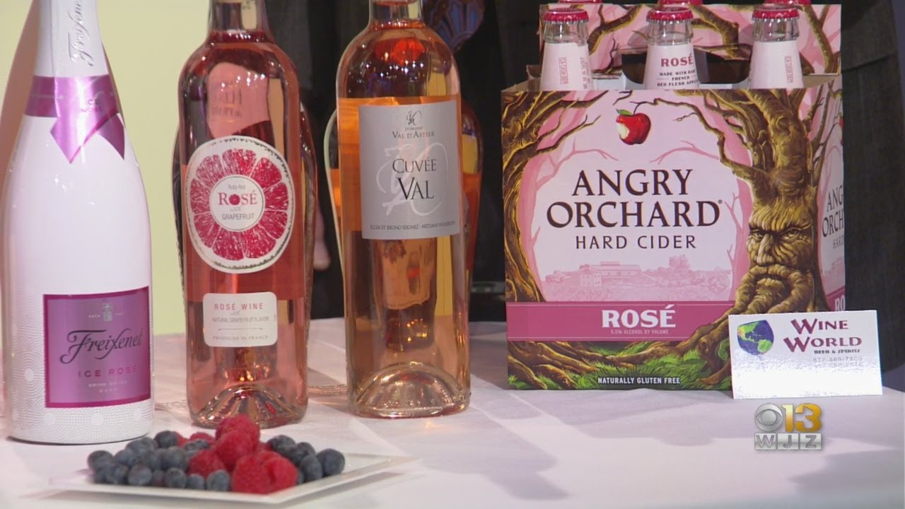 Wine World Gets WJZ Ready For National Rose Day