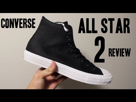 Converse All Star II 2 In-Depth Review + On Feet! - YouTube 37489e7a7