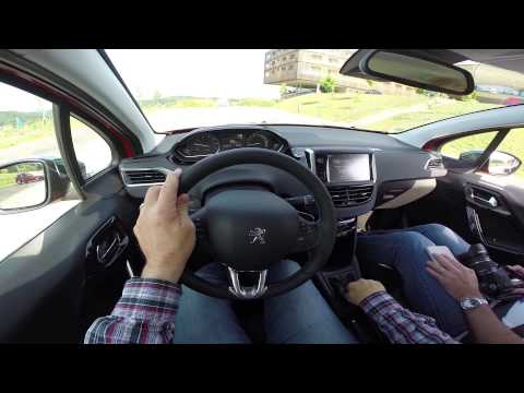 peugeot 208 active city brake youtube. Black Bedroom Furniture Sets. Home Design Ideas