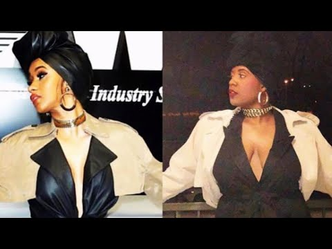 From Beyonce to Cardi B: Woman Dresses as Famous Figures for Black History Month