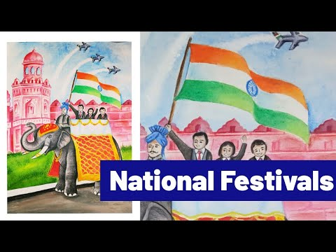 National Festivals/National Days/Republic Day & Independence Day/Red Fort/Patriotism/Bravery Award/