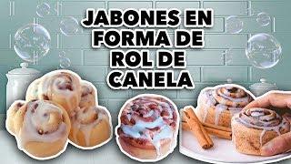 JABÓN ARTÍSTICO EN FORMA DE ROL DE CANELA. MAIRE VS EL INTERNET