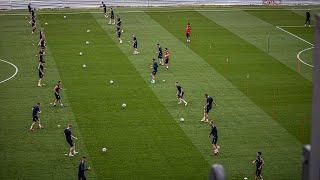 Oficjalny trening Portowców przed meczem z NK Osijek