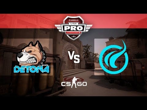 Alienware Liga Pro Gamers Club ABR/18 - DETONA vs NEO BLUE (Mirage)