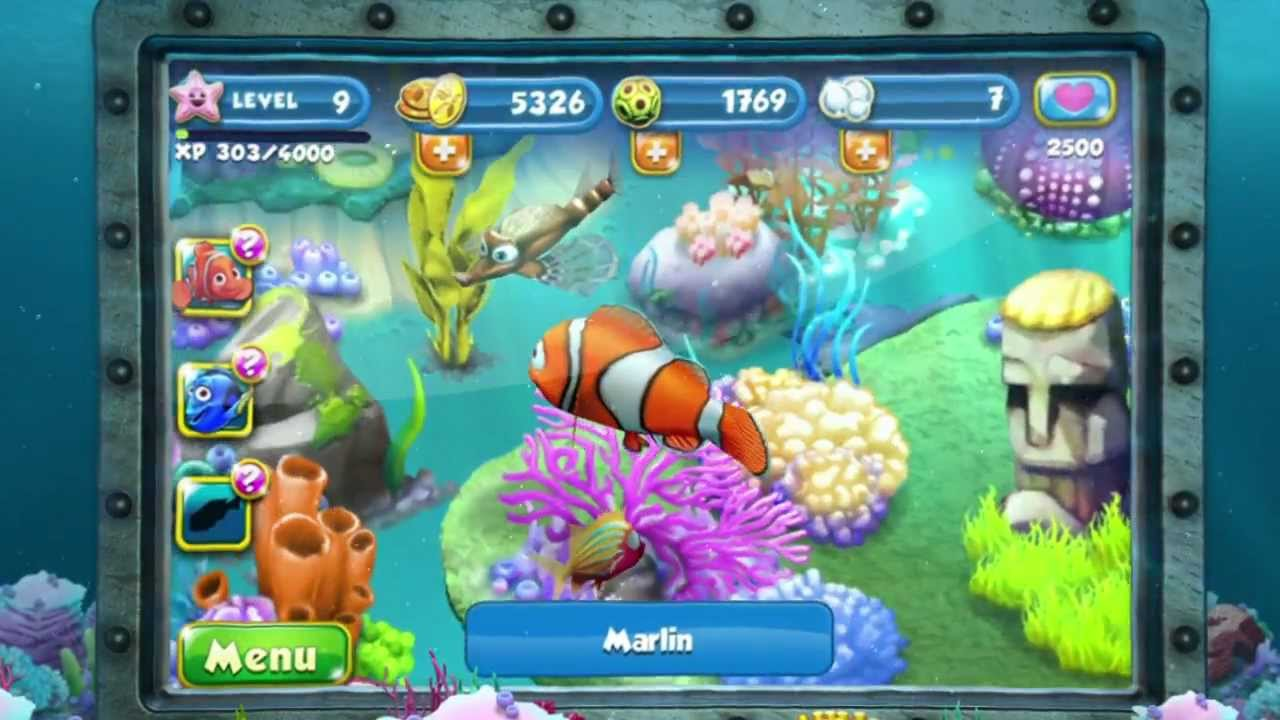 Finding Nemo comes to life on iOS, Android in Nemo's Reef