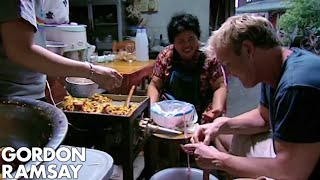Gordon Ramsay Learns How To Make A Thai Sausage | Gordon