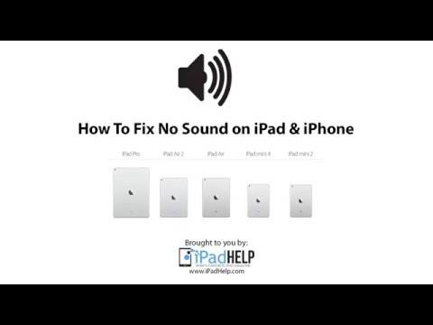 No Sound on iPad & iPhone Games & Apps: How to fix the problem
