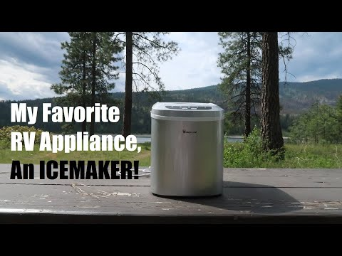 PORTABLE ICE MAKER | This is my Favorite RV Appliance!