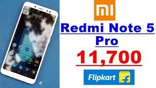 Redmi Note 5 Pro Sale Only 11,700, Flipkart Big Billion Days Sale
