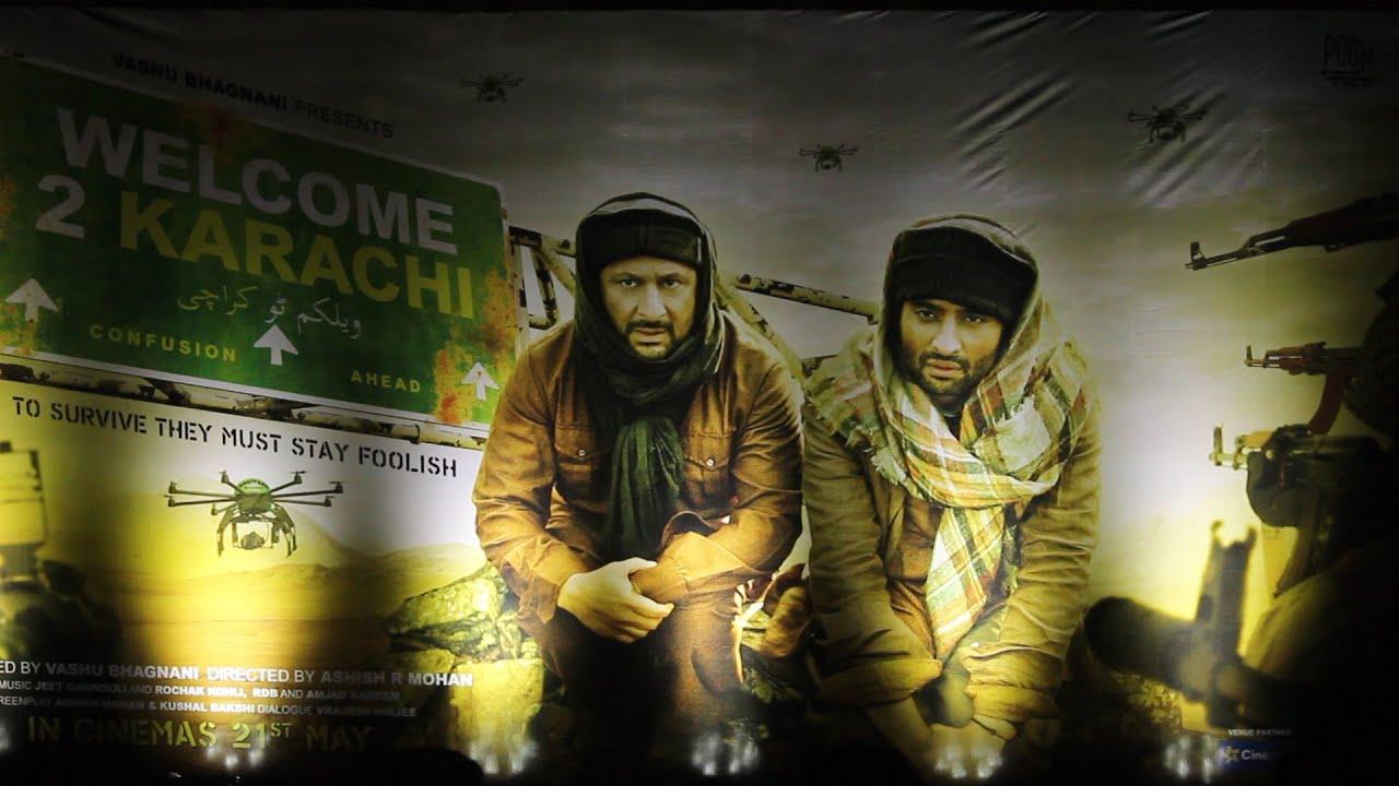 Download Welcome To Karachi Trailer Launch   Arshad Warsi   Jackky Bhavnani   Lauren Gottlieb