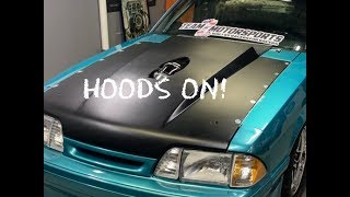 LS Foxbody build EP. 56 Team Z Dzus hood rails