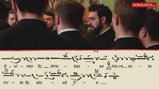 """Corul Byzantion - Stihira """"Mai înainte de Nașterea Ta"""""""
