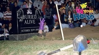 Undertaker vs Mankind Buried Alive Match In Your House 11: Buried Alive  UNDERTAKERS GRAVEST MATCHES