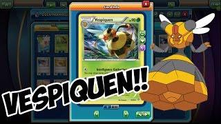 Bee Revenge Vespiquen! Pokemon TCG Online
