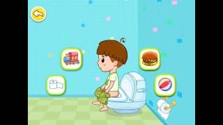 Toilet Training  Baby Potty Game play