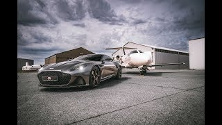 Aston Martin DBS Superleggera feat. Globe Air Jet