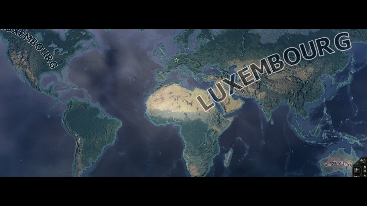 HOI IV - Luxembourg World Conquest EP01 - YouTube