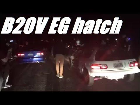 B20V EG Tears up the Streets!